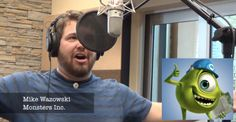 """Watch this impersonator sing """"Let it Go"""" in TWENTY-ONE Disney/Pixar voices. In one take. No edits. No transition times. This is so amazing I love this"""
