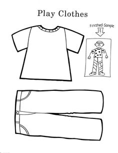 Printable T-Shirt coloring page from FreshColoring.com