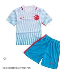 Camiseta Segunda Para Nino Turquia 2016  €15.5