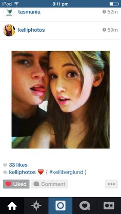 Billy unger and Kelli