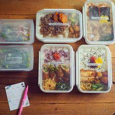 MAYAさんの「冷凍弁当」に注目!遠く離れていても家庭の味を届けられるんです | おうちごはん Bento Box, Lunch Box, Food Containers, Asian Recipes, Easy Recipes, Japanese Food, Meal Prep, Easy Meals, Food Porn