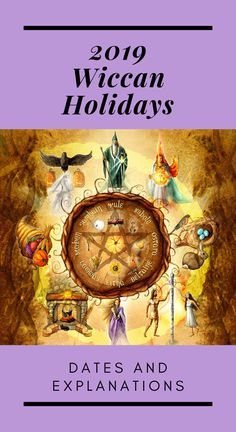 Find out when and how Wiccans celebrate the eight Sabbats, or holidays, in These are the most important dates of the year in witchcraft! Green Witchcraft, Wiccan Witch, Wiccan Spells, Wiccan Sabbats, Paganism, Wiccan Rituals, Wicca Holidays, How To See Aura, Wiccan Books