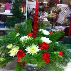 Live Christmas Floral Arrangement