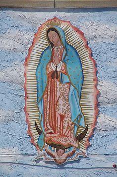 Virgen de Guadalupe, Mural 4