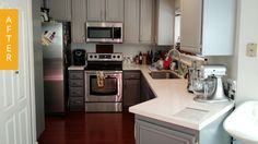 Kitchen after remodel