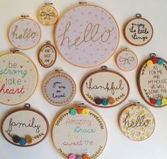 fun idea for the sewing room