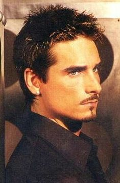 Kevin Richardson. Backstreet Boys he has never been my #1 but this is a fabulous pic of him! Go Kev!!
