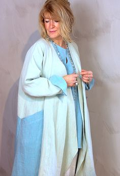 Summer Edy Jacket £295 over Greek Top £235.(Other colours).