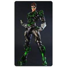 Green Lantern DC Comics Play Arts Kai Variant Action Figure - http://lopso.com/interests/dc-comics/green-lantern-dc-comics-play-arts-kai-variant-action-figure/
