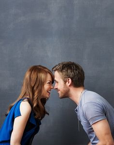 i am so in love with ryan gosling and emma stone!