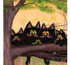 4 Entomologists - The Cranky Cat Collection(TM)