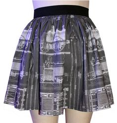 Vintage Trains Full Skirt by GoFollowRabbits on Etsy