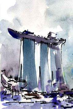 Asnee Tasna | Urban Sketcher