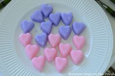 DIY - Colored Heart Sugar Cubes