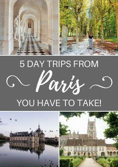 5 Best Day Trips from Paris, France You Have To Take! 5 of the best day trips from Paris featuring day escapes to: Versailles, Fontainebleau, Auvers-sur-Oise, Meaux and Chantilly. Paris Travel Guide, Europe Travel Tips, Travel Destinations, Paris Tips, Travel Advice, European Vacation, European Travel, Budapest, Cool Places To Visit