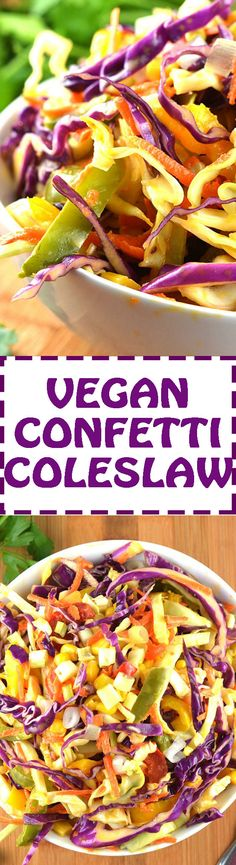 Vegan Coleslaw by The Veg Life!