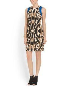 Animal Sheath Dress