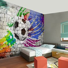 teenage boys room graffiti interiors pinterest graffiti room and bedrooms. Black Bedroom Furniture Sets. Home Design Ideas
