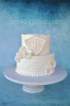 LDS Baptism cake by ashlie.getz.cakes