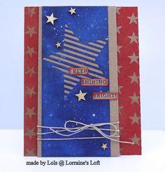 Lorraine's Loft: Simon Says Stamp August 'Seeing Stars' Card Kit