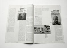 Lerchenfeld Magazin - design Johanna Flöter and Sarah Tolpeit, 2011