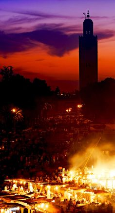The Famous Jema el Fna square in Marrakesh   20 Photos that Prove Morocco is a Dream Destination