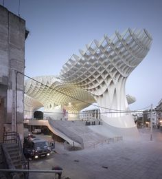 Metropol Parasol - A project by J. MAYER H. Architects