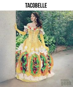 best costume Taco Belle (Taco Bell + beauty and the beast) LOL
