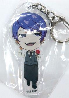 Tokyo Ghoul Acrylic Keychain Shu Tsukiyama Cafe Costume Animate Cafe Limited F/S
