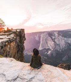 """Sunset at Taft Point, Yosemite, California 