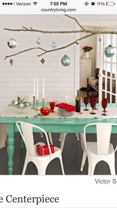 Rustic red and turquoise