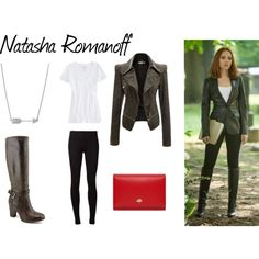 Natasha Romanoff - Polyvore