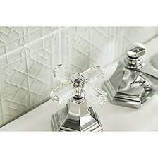 Sink Faucet, Clear Crystal Handles | FOR LOFT | BY MICHAEL S SMITH |  Pinterest | Faucet, Basin And Lofts