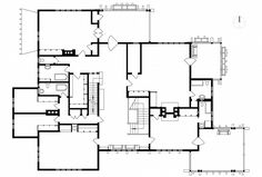 Blacker house floor plan greene and greene pasadena california 1907 craftsman style - Creative home with beautiful panorama to provide total comfort living ...