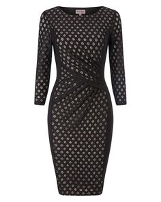 Buy Phase Eight Spot Mesh Dress, Black from our Women's Dresses range at John Lewis & Partners. Long Sleeve Midi Dress, Black Midi Dress, Maxi Dress With Sleeves, Black Maxi, Dress Long, Mesh Dress, Women Wear, Bodycon Dress, Dresses For Work