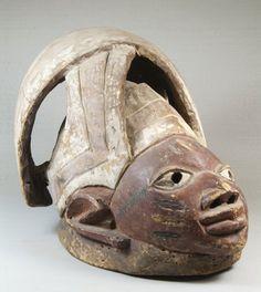 Gelede Mask  Culture: Yoruba  Medium: Wood, pigment  Place Made: Nigeria  Dates: late 19th century
