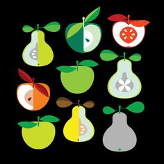 Apples and Pears, by The Modern Era on Society6