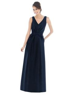 Alfred Sung Bridesmaid Dress D505