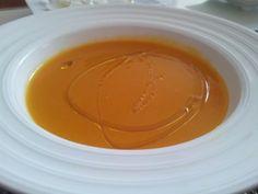 Crema de calabaza. Receta (recipe, recipe), comida (food, food)