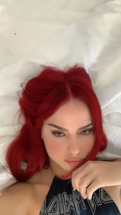 Hair Color Streaks, Hair Dye Colors, Dyed Red Hair, Dye My Hair, Red Hair Inspo, Aesthetic Hair, Pretty Hairstyles, Hair Looks, Hair Inspiration