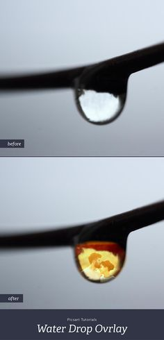 Learn how to overlay a scene into the reflection of a drop of water. Surprisingly easy for a stunning effect.