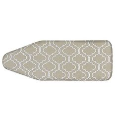 Use this trellis-designed Ironing Board Cover to fit all of your extra-wide ironing boards. It even features stretch n' fit binding for a snug fit in addition to sure-lock straps.