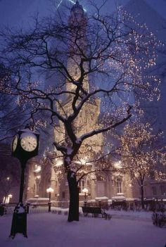 Historic Water Tower Park in Chicago, USA