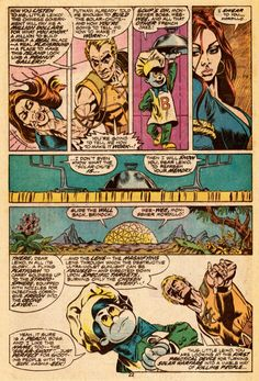 Paul Gulacy and Doug Moench, Master of Kung Fu #34
