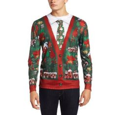 #Christmas Need to buy Faux Real Men's Ugly Cardigan with Tie, Multi, XX-Large for Christmas Gifts Idea Promotions . Naturally on the list of immensely beautiful fishing lures could be the emotion that as you take a seat there comfortably as part of your chair, mug connected with herbal tea handy, anyone have in the...