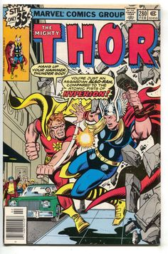 Mighty Thor 280 Marvel 1979 NM- Hyperion Squadron Supreme