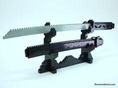nanoblock Samurai Sword ... http://fb.inanoblock.com for more