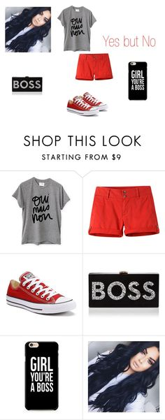 """""""Bo$$"""" by kaylia-ashley on Polyvore featuring Sincerely, Jules, Mountain Khakis, Converse, Milly and nofilter"""