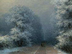 И.Айвазовский Зимний пейзаж.