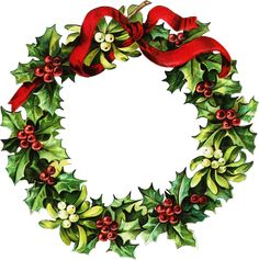 victorian christmas clip art -